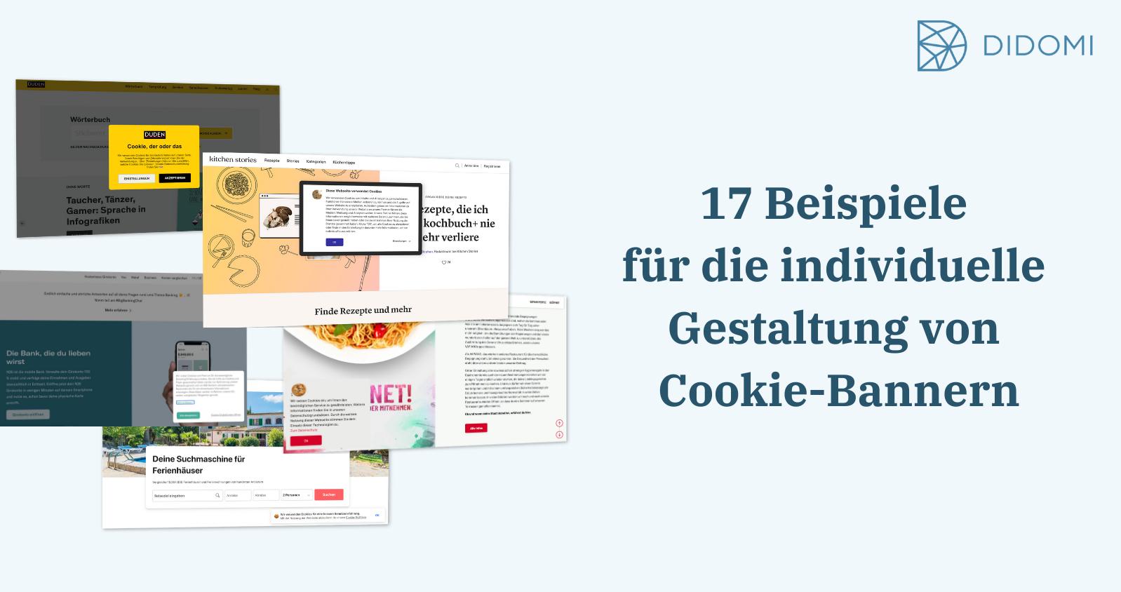 17 Beispiele für die individuelle Gestaltung von Cookie-Bannern_V2
