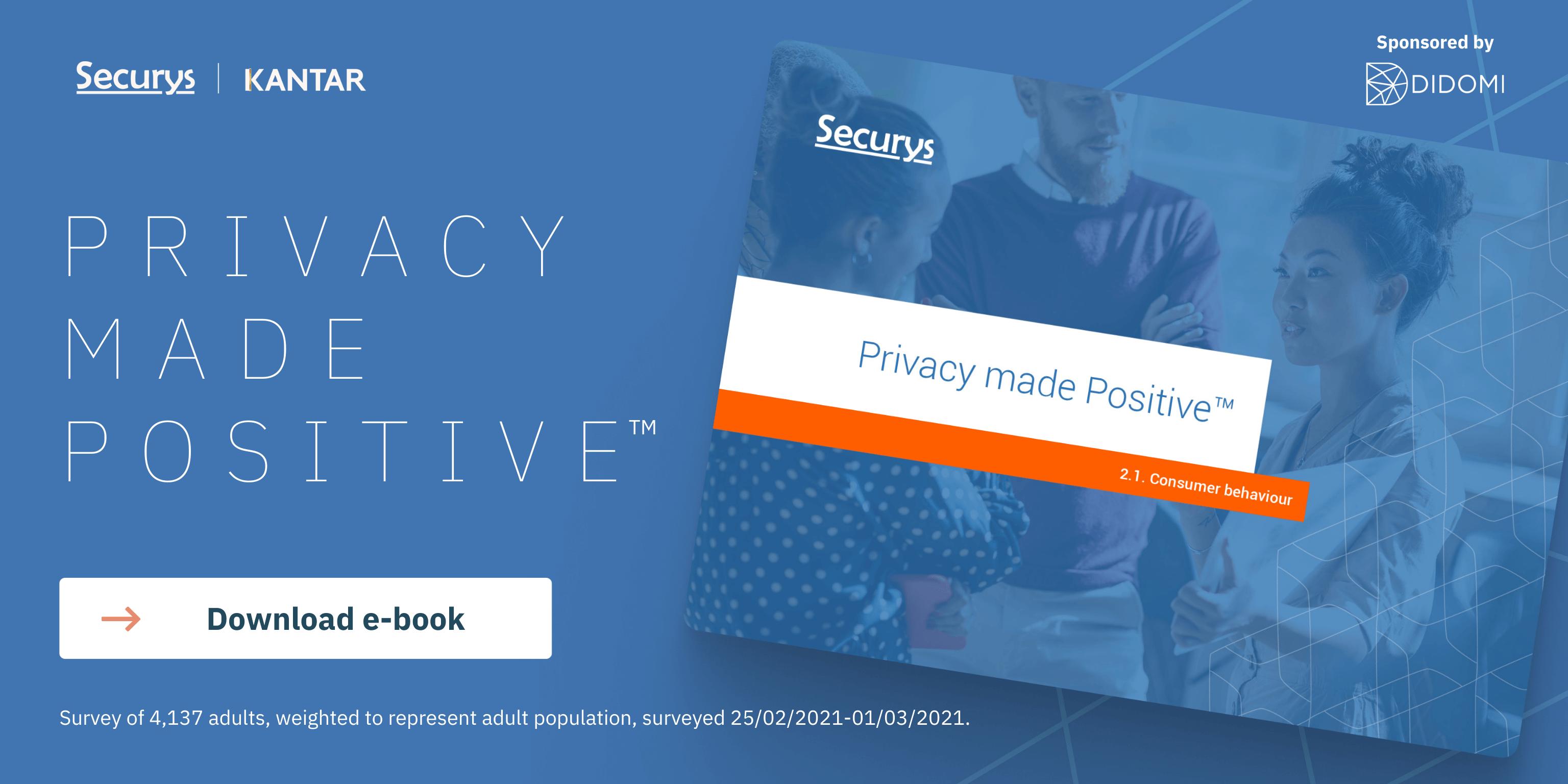 PRIVACY MADE POSITIVE - Download e-book Socials