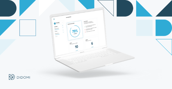 Computer mit einer Didomi Consent Management Plattform (CMP)
